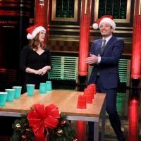 VIDEO: Amy Adams Plays Holiday Flip Cup, Talks New Film 'Big Eyes' on TONIGHT