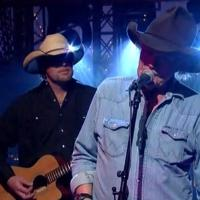 VIDEO: Willie Nelson & Billy Joe Shaver Perform on LETTERMAN