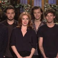 VIDEO: Amy Adams & One Direction Promo This Week's SNL