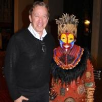 Photo Flash: Tim Allen Visits THE LION KING on Broadway!