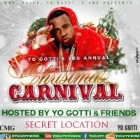 YO GOTTI'S Third Annual Christmas Carnival to be Held on 12/22!