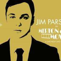 Jim Parsons returns to Studio 54 for one-night-only!