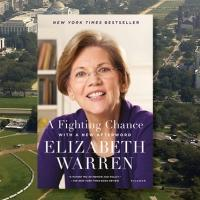 Senator Elizabeth Warren Returns to Strand to Discuss A FIGHTING CHANCE Today
