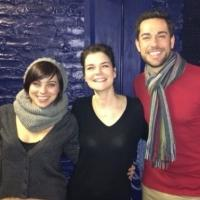 Exclusive Photo Flash: Betsy Brandt Visits FIRST DATE!