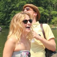 Photo Flash: HOW TO BE A NEW YORKER's Margaret Copeland & Kevin James Doyle Brave the Heat with Lemonade