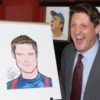 Photo Coverage: Christopher Sieber Gets Honored with  Sardi's Caricature