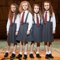 MATILDA THE MUSICAL Cast to Perform on THE LATE SHOW WITH DAVID LETTERMAN, 6/11