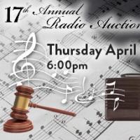 Radio Vermont Hosts The 17th Vermont Symphony Orchestra Radio Auction, 4/30