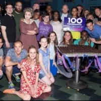 Exclusive Photo Coverage: VIOLET Cast Celebrates 100th Performance on Broadway!