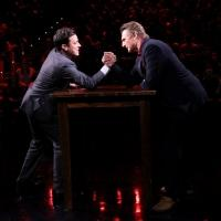 VIDEO: 'Taken 3's Liam Neeson Arm Wrestle's with Jimmy on TONIGHT SHOW