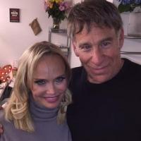 WICKED Reunion! Stephen Schwartz Visits Kristin Chenoweth Backstage At ON THE TWENTIETH CENTURY
