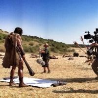 First Look - Dwayne Johnson Tweets Photo from Set of HERCULES