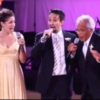 STAGE TUBE Flashback: Lin-Manuel Miranda Surprises Wife Vanessa With 'To Life' Wedding Performance!