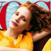 Photo Coverage: Jessica Chastain Gets Vogue Cover
