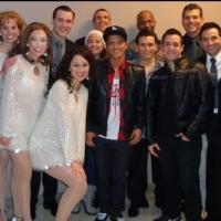 Photo Flash: Bruno Mars Visits JERSEY BOYS in Las Vegas