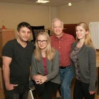 Photo Flash: In Rehearsal for Atlantic Theater Company's I'M GONNA PRAY FOR YOU SO HARD with Reed Birney & Betty Gilpin