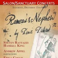 Harpsichordist Andrew Appel Joins the Cast of Salon/Sanctuary Concerts's Production of Rameau's Nephew Tonight