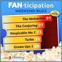 THE WOLVERINE is No. 1 Fan Pick for Upcoming Weekend