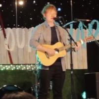 VIDEO: Ed Sheeran Debuts FAULT IN OUR STARS Song Live in Tour Vlog