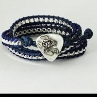 Guitar Pick Bracelet Featured in Selena Gomez Gift Bag