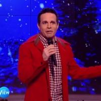 VIDEO: Mario Cantone Re-Tells Story of Rudolph the Red-Nosed Reindeer on THE VIEW
