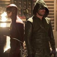 Photo Flash: First Look at THE FLASH & ARROW's Crossover Episode