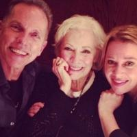 Photo Flash: CARRIE Reunion! Dean Pitchford and Linzi Hateley Visit Betty Buckley at DEAR WORLD