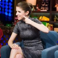 Photo Flash: INTO THE WOODS' Anna Kendrick Visits Last Night's 'Watch What Happens'