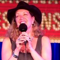 STAGE TUBE: Adinah Alexander Sings 'Never Never Land' at BROADWAY SESSIONS