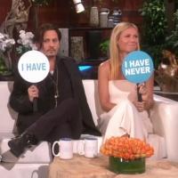 VIDEO: 'Mordecai's Johnny Depp & Gwyneth Paltrow Reveal Secrets on ELLEN