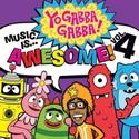 YO GABBA GABBA! MUSIC IS AWESOME!: VOLUME 4 Available Today, 10/9