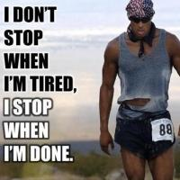 Fitness Tip of the Day: Keep Going!