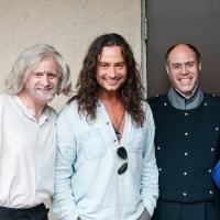 Photo Flash: Constantine Maroulis Visits the Cast of Surflight's LES MISERABLES
