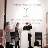 Karl Lagerfeld Awarded The Neiman Marcus Award For Distinguished Service In The Field Of Fashion