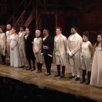 STAGE TUBE: The Public's HAMILTON Pays Heartfelt Homage to A CHORUS LINE - Full Footage!