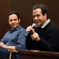Photo Coverage: Tony Shalhoub & Santino Fontana Read from ACT ONE at Barnes & Noble