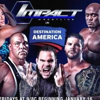 Destination America to Premiere IMPACT WRESTLING, 1/16