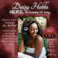 ALADDIN's Daisy Hobbs to Make NYC Solo Debut in HERE, AN EVENING OF SONG at Stage 72 Next Month