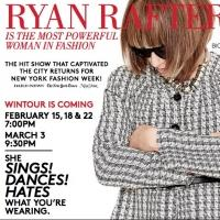 Ryan Raftery's 'MOST POWERFUL WOMAN IN FASHION' Set for Los Angeles, NYC This Winter