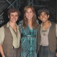 Photo Coverage: THE LITTLE MERMAID's Jodi Benson Visits NEWSIES!