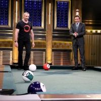 VIDEO: Hugh Jackman Plays Pool Bowling & More on TONIGHT SHOW