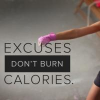 Fitness Tip of the Day: Excuses Don't Burn Calories