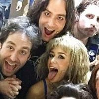 Photo Flash: Saturday Intermission Pics - Jan 17 Part 2 - ROCK OF AGES Snaps Final #SIP and More!