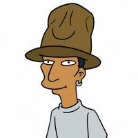 First Look - Pharrell Williams Gets Animated in Upcoming Episode of THE SIMPSONS