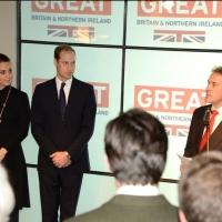 Duke and Duchess of Cambridge Visit 'Creativity is GREAT Britain' Reception