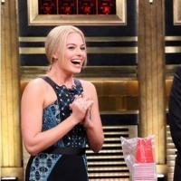 VIDEO: 'Focus' Star Margot Robbie Plays Flip Cup on TONIGHT