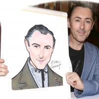 FREEZE FRAME: CABARET's Alan Cumming Unveils Sardi's Caricature!