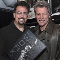 David Bergman's BON JOVI: WORK Coffee Table Book Available Just in Time for the Holidays