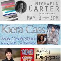 This Week at Bookworks Includes New Young Adult Novel by Kiera Cass, 100 Things to do in ABQ, Finding Abbey, and More!