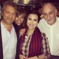 MISS SAIGON Reunion! Lea Salonga Poses With Claude-Michel Schonberg & Alain Boublil